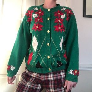 90s/Y2K Preppy Ugly Christmas Sweater